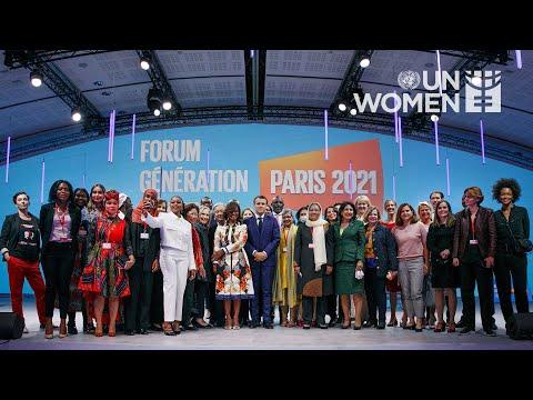 Generation Equality Paris | Opening Ceremony Recap