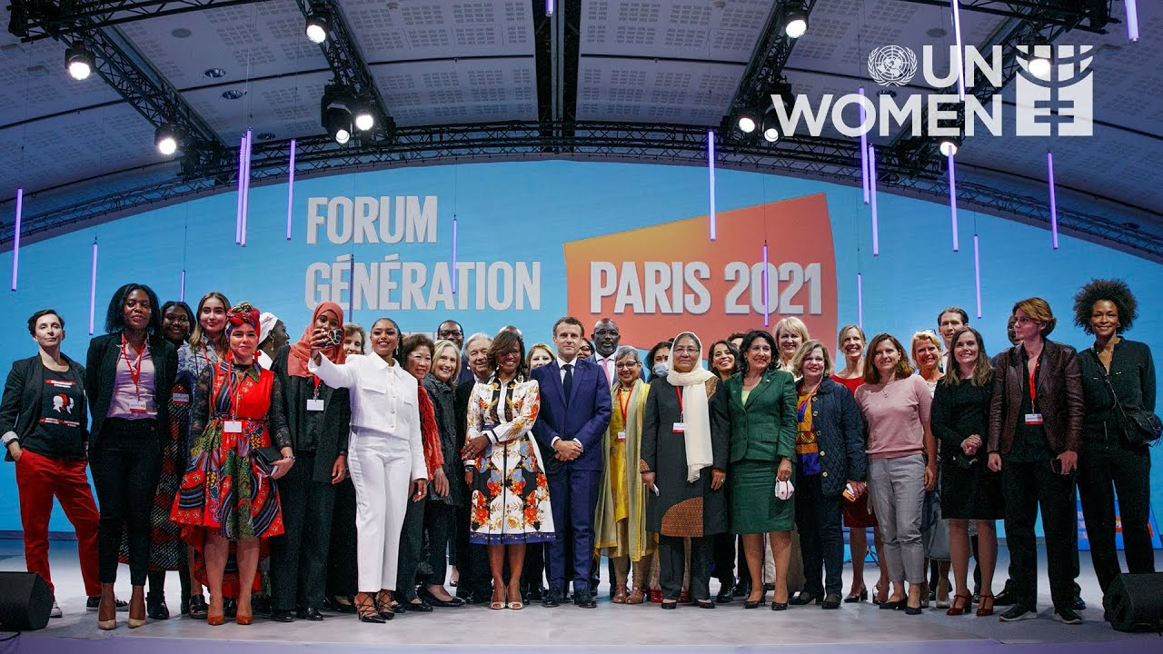 Generation Equality Paris | Opening Ceremony Recap  - 23:55-2021 / 9 / 17