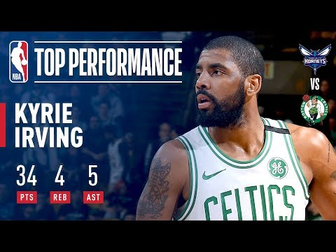 Kyrie Irving Efficiently Erupts For 34 Points in 24 Minutes! | February 28, 2018