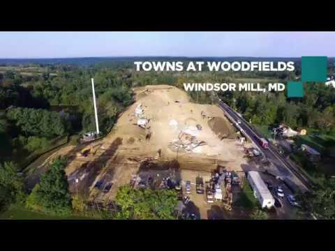 Towns At Woodfields Construction Update - Drone Mapping by Global Air Media