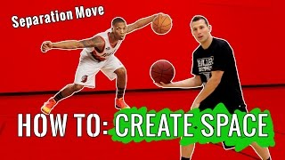 How to create space like damian lillard: 4 basketball training moves