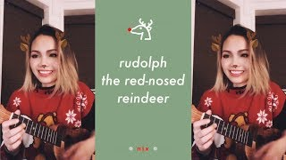 rudolph the red-nosed reindeer 🦌/ nix