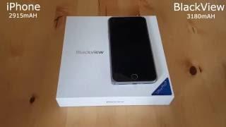 Blackview Ultra Plus vs  Iphone 6 Review