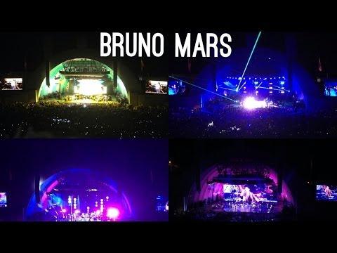 Bruno Mars Concert 5.31.14 Hollywood, Los Angeles, California