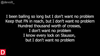 Young Thug - No problem w/lyrics