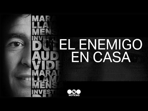EL ENEMIGO DE DIEGO MARADONA, EN SU CASA: ¿Quién es Charly? Por Mauro Szeta - Telefe Noticias