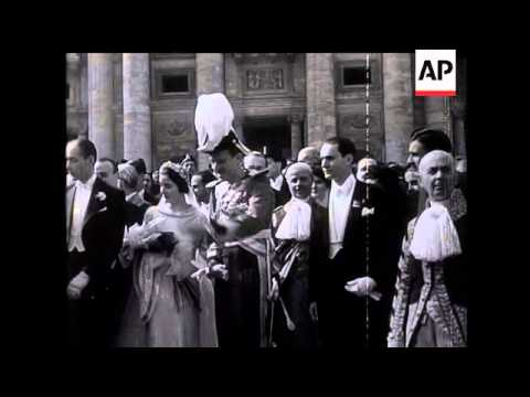 Infante Don Jaime Married In Rome