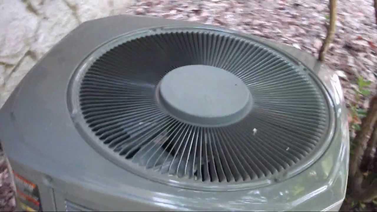 2005 trane xr11 2 5 ton heat pump startup shutdown in cool mode rh youtube com Trane XR11 Motors Insulation Trane XR11 Wiring