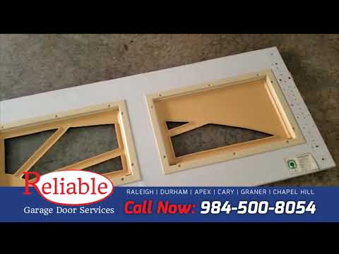 Panel Replacement Reliable Garage Door Services In Raleigh Nc Youtube