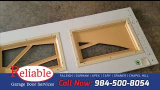 Panel replacement Reliable Garage Door Services in Raleigh, NC