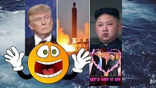 "Kim Jong Sings ""Rocket Man"" loves Donald Trump"