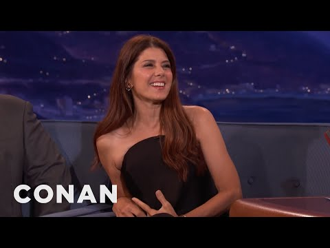 Conan Demands An Aunt May Spinoff For Marisa Tomei   CONAN on TBS