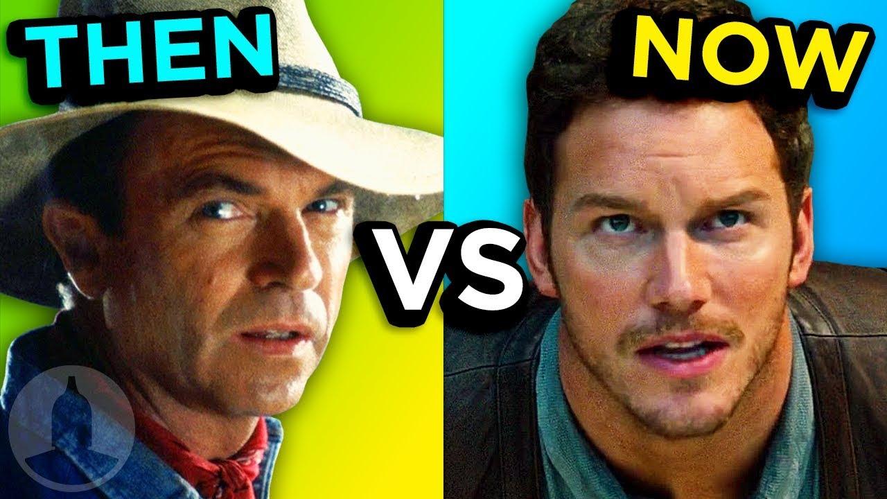 Jurassic Park - Then Vs Now - Evolution Of Jurassic Park | Cinematica