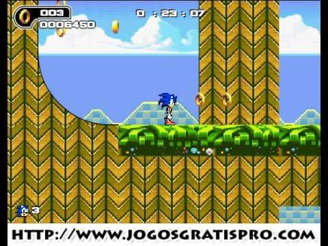 Como jogar Sonic Ultimate Flash - Jogos Gratis Pro
