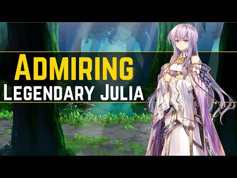 Julia Looks So Good & Classy! Legendary Julia Art Viewing! ( ´ ▽ ` ) | FEH Art 【Fire Emblem Heroes】