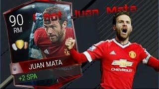 90 rated Juan Mata Gameplay