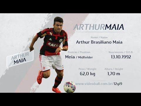 Arthur Maia - Meia - Melhores Momentos