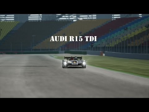 Audi R15 TDI LMP1 Hotlap Hockenheimring