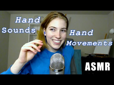 Fast Hand Sounds and Hand Movements ASMR