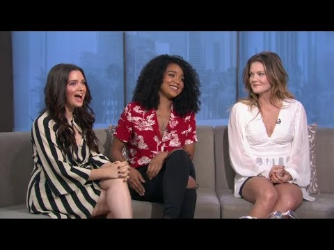 Katie Stevens, Aisha Dee & Meghann Fahy on summer finale of 'The Bold Type'  Good Day LA Fox