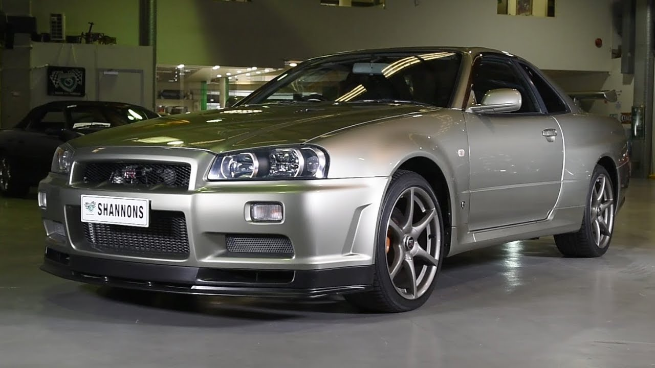 2002 Nissan Skyline GT-R R34 V-Spec II NUR Coupe -  2018 Shannons Sydney Winter Classic Auction