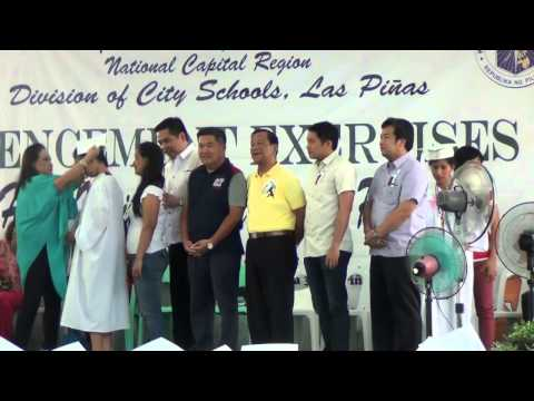 CAA NATIONAL HIGH SCHOOL MAIN GRADUATION 2013 2014 JAMESMARTIN ROSAL