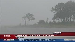 بالفيديو.. إعصار هيرمين يضرب ولاية فلوريدا لأول مرة منذ 11 عام