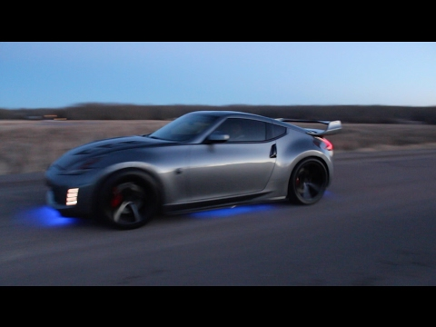 CRAZY SUPERCHARGED NISSAN 370Z