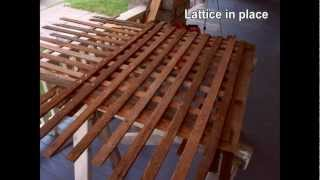 Todays Project- Lattice Barriers From Scratch