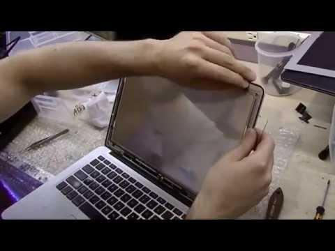 Замена матрицы в MacBook Air