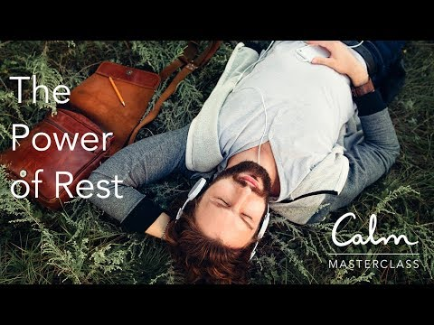 Calm Masterclass: The Power of Rest with Alex Pang