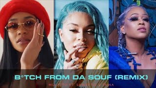 Mulatto - Bitch From The Souf Remix ft. Saweetie and Trina Lyrics