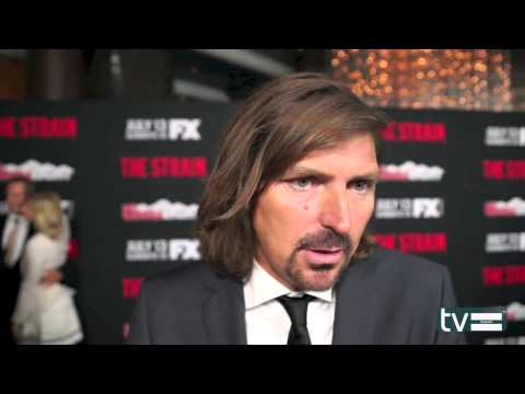 Robin Atkin Downes Interview - The Strain (FX)