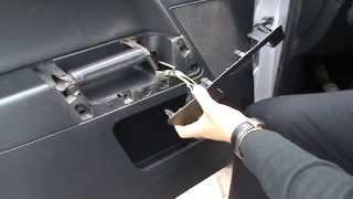 Ремонт двери водителя Форд Фьюжен(, 2015-05-25T21:11:54.000Z)