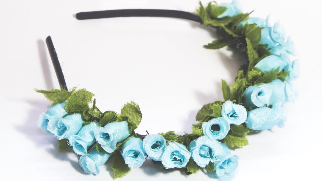 Como fazer tiara de flores youtube for Como criar caracoles de jardin