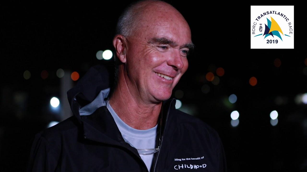Bouwe Bekking | Skipper Childhood 1. RORC Transatlantic Race.