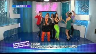 Tongo y el estreno mundial de 'La Chica Candy' en Espectáculos
