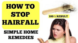 How To Stop Hairfall - Easy Home Remedies | Ramsha Sultan