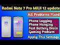 - Redmi Note 7 Pro MIUI 12 All