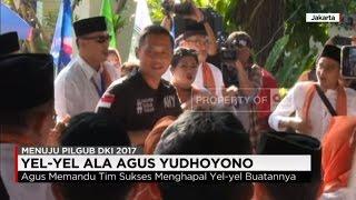 yel yel ala agus harimurti yudhoyono