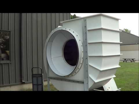 North American Air Products 50 HP Exhaust Blower