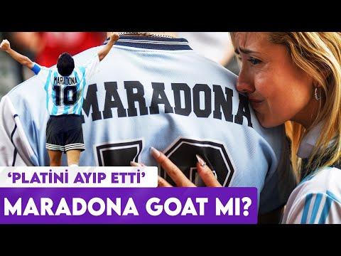"""Maradona """"Tüm zamanların"""