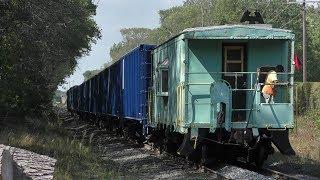 Mass Coastal Stone Train w/NYC Caboose! in Mansfield MA