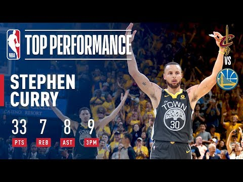 NBA Finals score: Stephen Curry hits 9 3s, Golden State Warriors take 2-0 lead on Cleveland Cavaliers