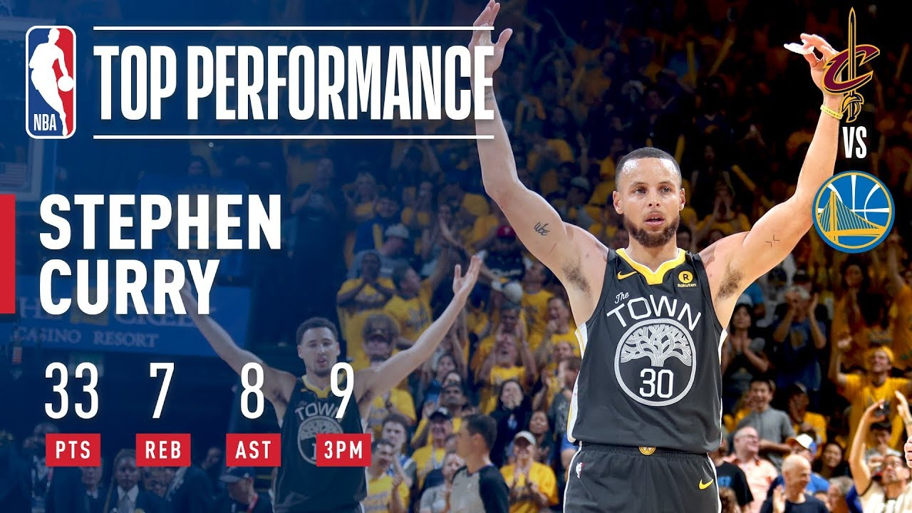 db7a1085b8f Stephen Curry Records Finals RECORD 9 made 3pt FG in Game 2