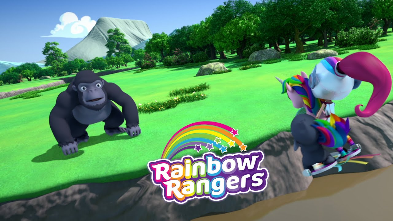Operation Gorilla-Grab is a Go! | Rainbow Rangers Episode Clip