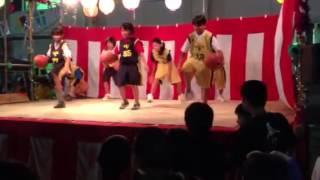 西長住祭り「ミニバスステージ」