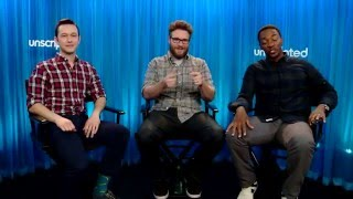 'The Night Before' | Unscripted | Seth Rogen, Joseph Gordon-Levitt, Anthony Mackie