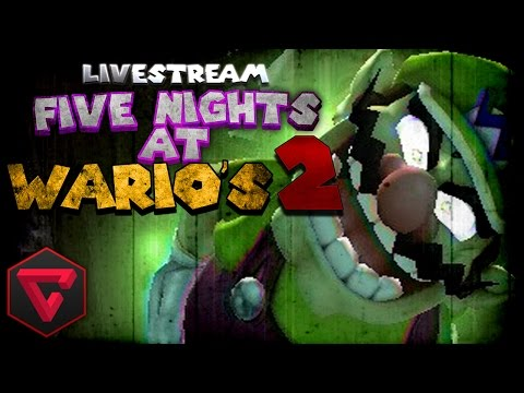 FIVE NIGHTS AT WARIO'S 2: TERROR EN VIVO | (Five Nights at Freddy's Fan Game) #TerrorConTown