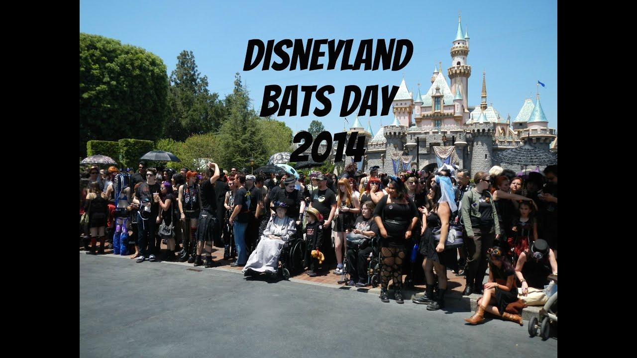 Disneyland Bats Day 2014 Youtube